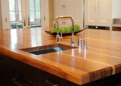 Gilbert AZ wood countertop